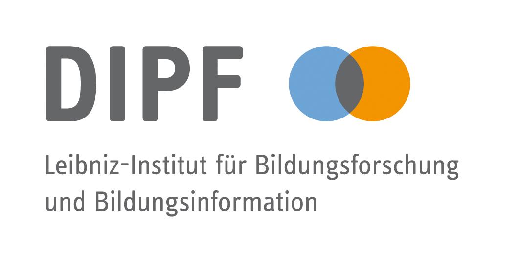 Das Foto zeigt das Logo des DIPF und verlinkt auf deren Website