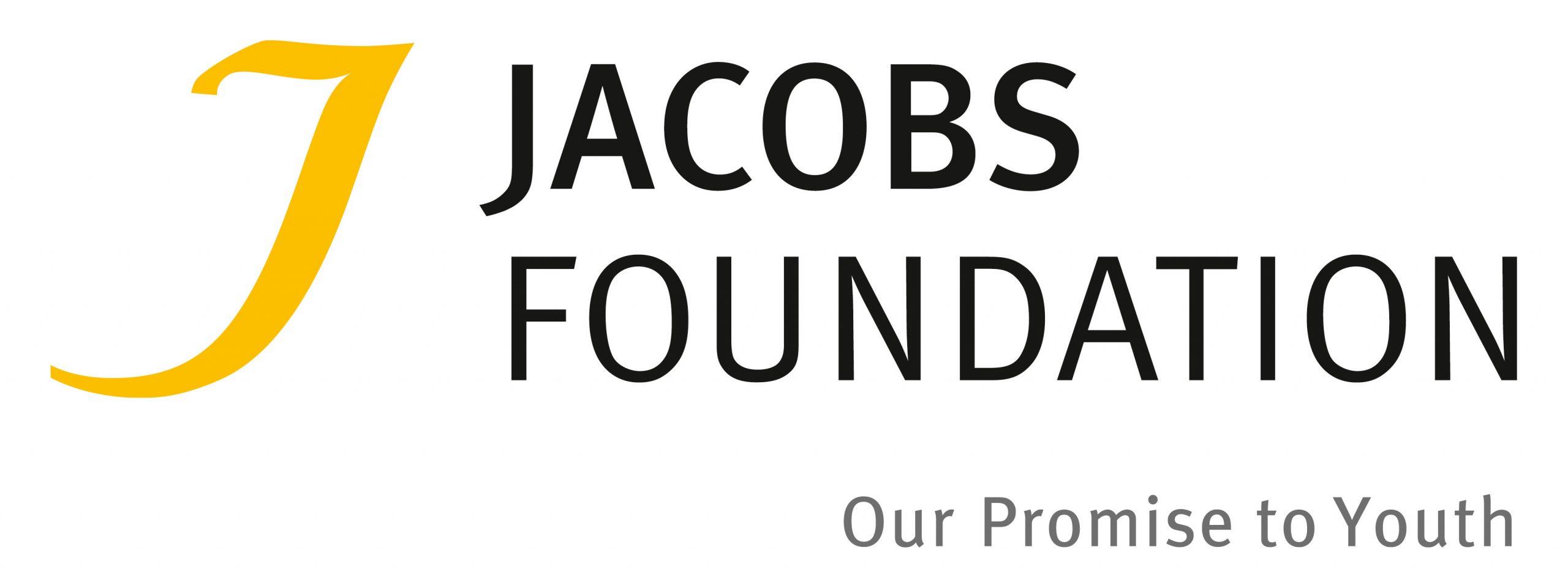 Das Foto zeigt das Logo der Jacobs Foundation und verlinkt auf deren Website