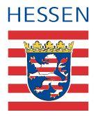 Die Abbildung zeigt das Logo des Landes Hessen